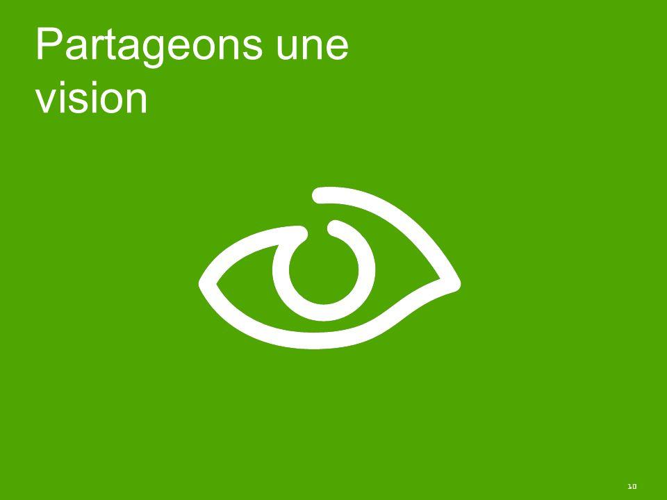 10 Partageons une vision