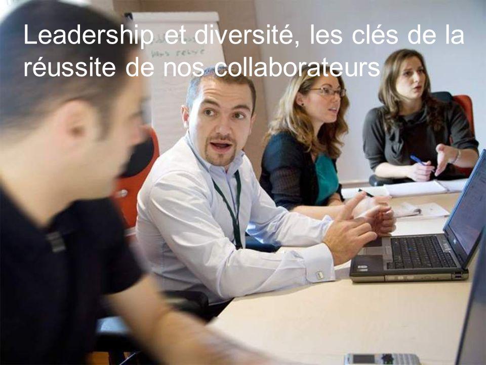 20 Leadership et diversité, les clés de la réussite de nos collaborateurs
