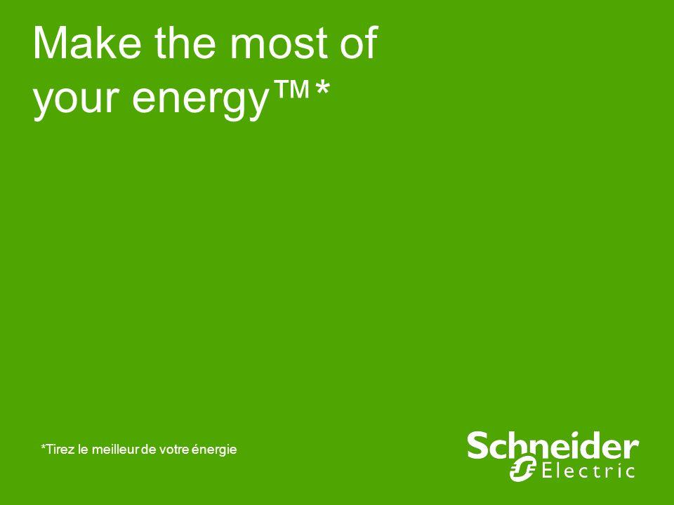 Make the most of your energy* *Tirez le meilleur de votre énergie