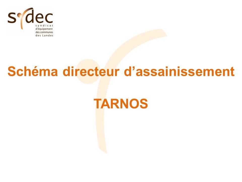 Schéma directeur dassainissement TARNOS