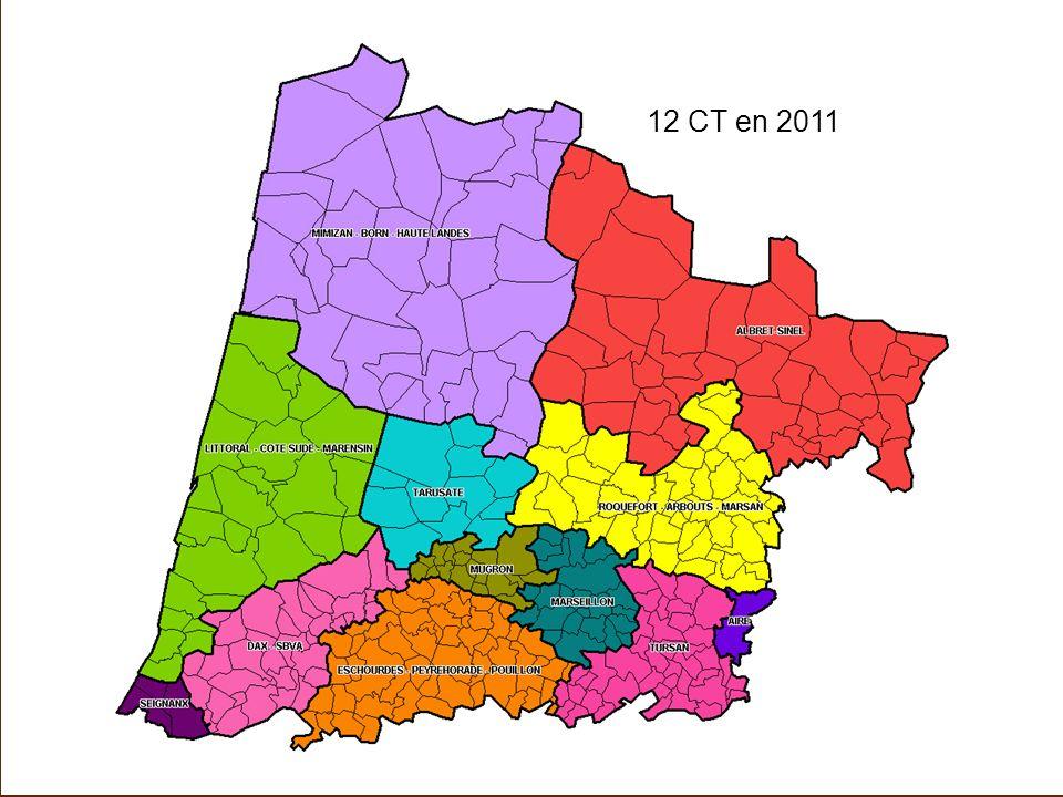 12 CT en 2011