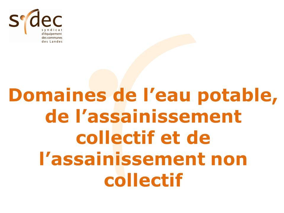 Synthèse CRT ASSAINISSEMENT NON COLLECTIF 2010