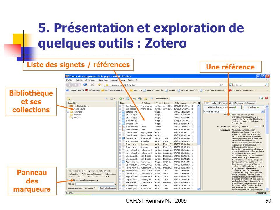 URFIST Rennes Mai 200950 5.