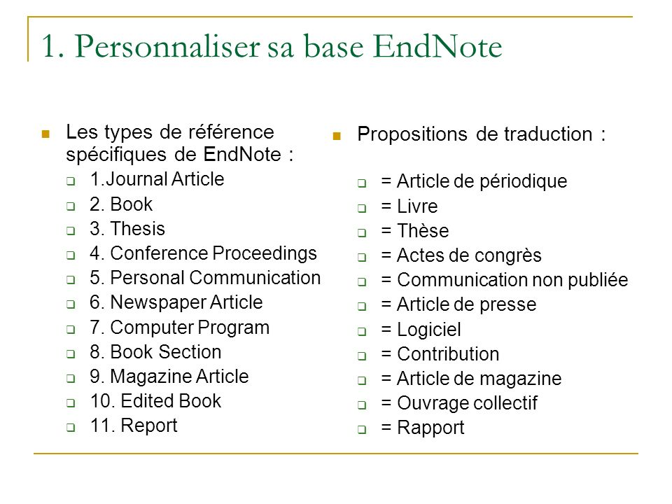 thesis type endnote