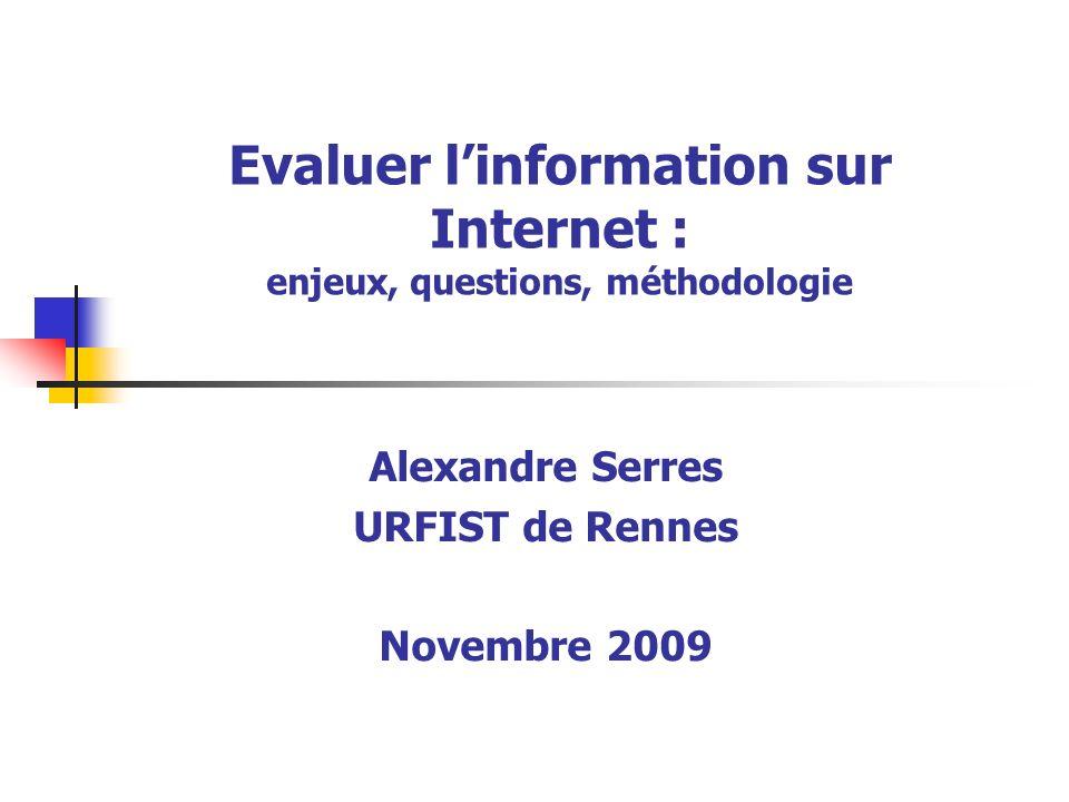 URFIST Rennes, A.Serres, 200942 5.