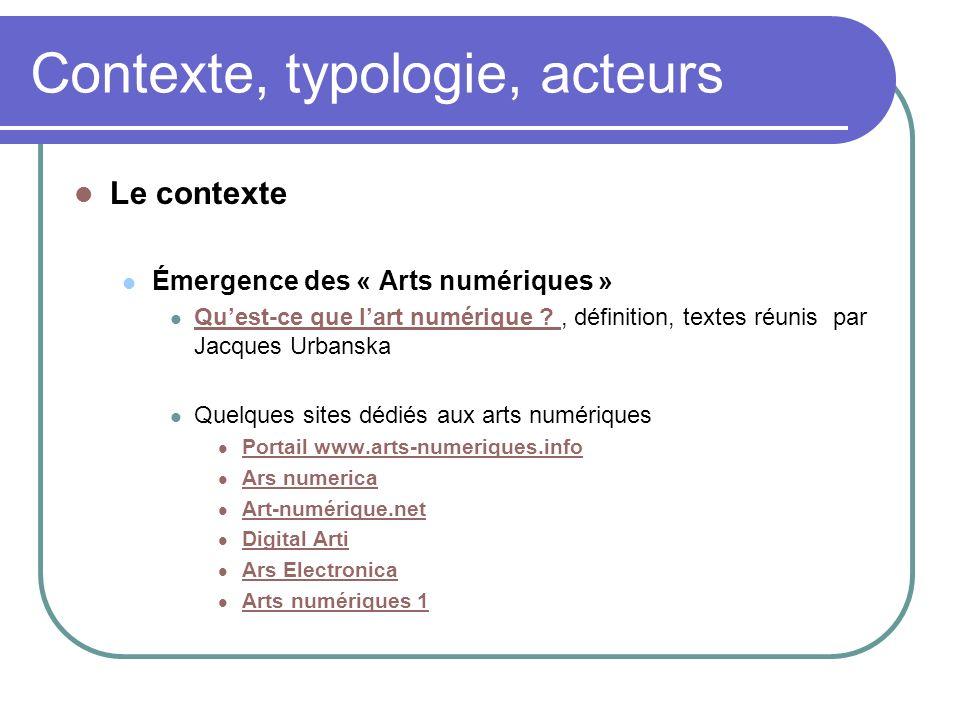Outils, sites dorientation Répertoires, sélection de signets généralistes Signets BNF, http://signets.bnf.fr/, la rubrique Artshttp://signets.bnf.fr/Arts Signets des universités, http://www.signets-universites.fr/fr/http://www.signets-universites.fr/fr/ Intute, http://www.intute.ac.uk/http://www.intute.ac.uk/ (et dautres répertoires comme lannuaire Dmoz, http://dmoz.org, la Virtual Library, http://vlib.org/, Voice of the Shuttle, http://vos.ucsb.edu, etc.)http://dmoz.orghttp://vlib.org/ http://vos.ucsb.edu 46 Urfist Rennes