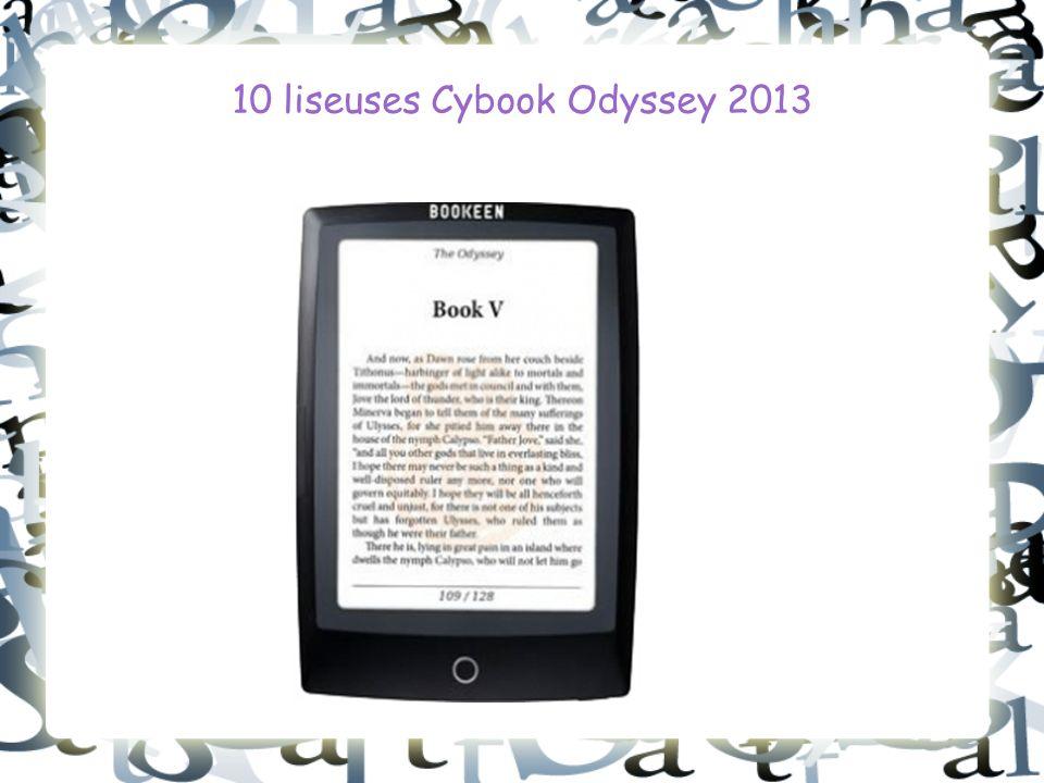 10 liseuses Cybook Odyssey 2013