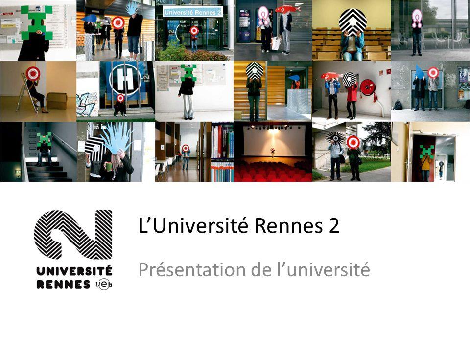 LUniversité Rennes 2 Présentation de luniversité