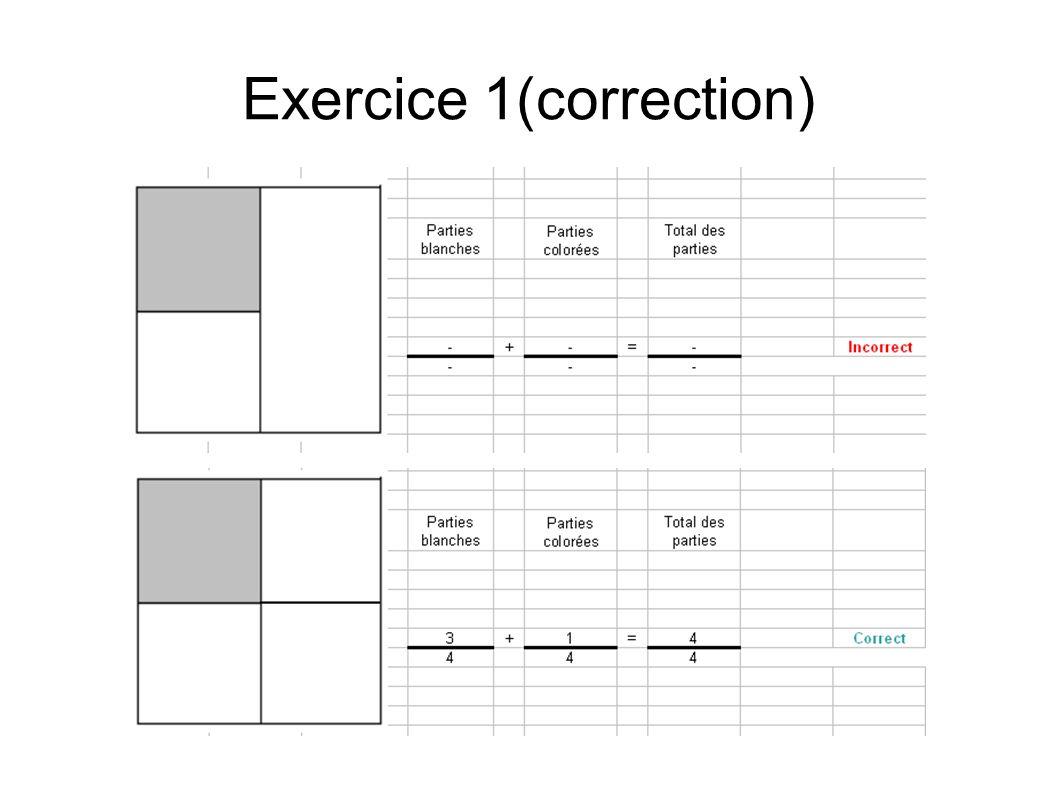 Exercice 1(correction)