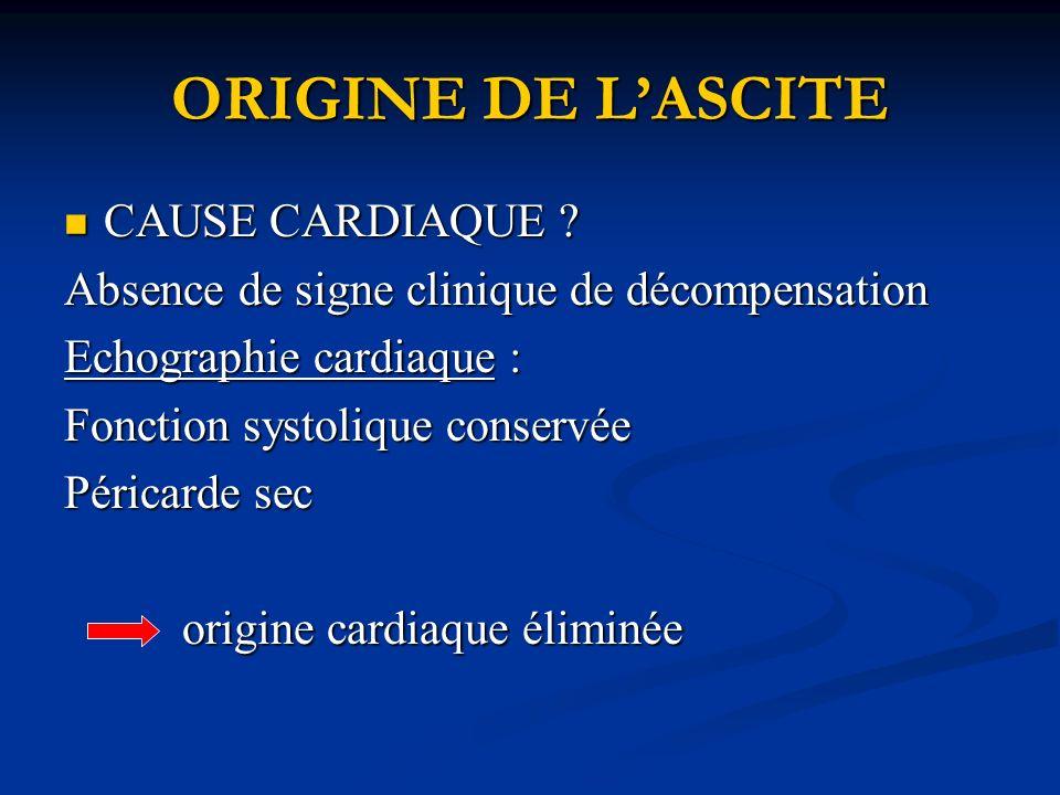 ORIGINE DE LASCITE CAUSE CARDIAQUE .CAUSE CARDIAQUE .