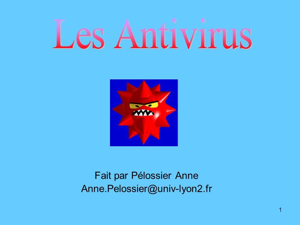 1 Fait par Pélossier Anne Anne.Pelossier@univ-lyon2.fr