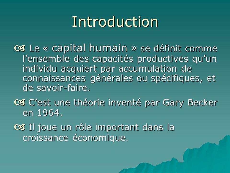 Lhomme Est-il Un Capital Humain Conférence D. Chacas – J. Marchand – L. Leduc