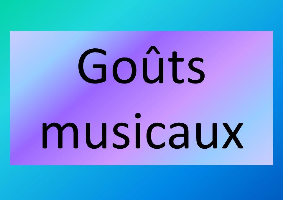 Goûts musicaux