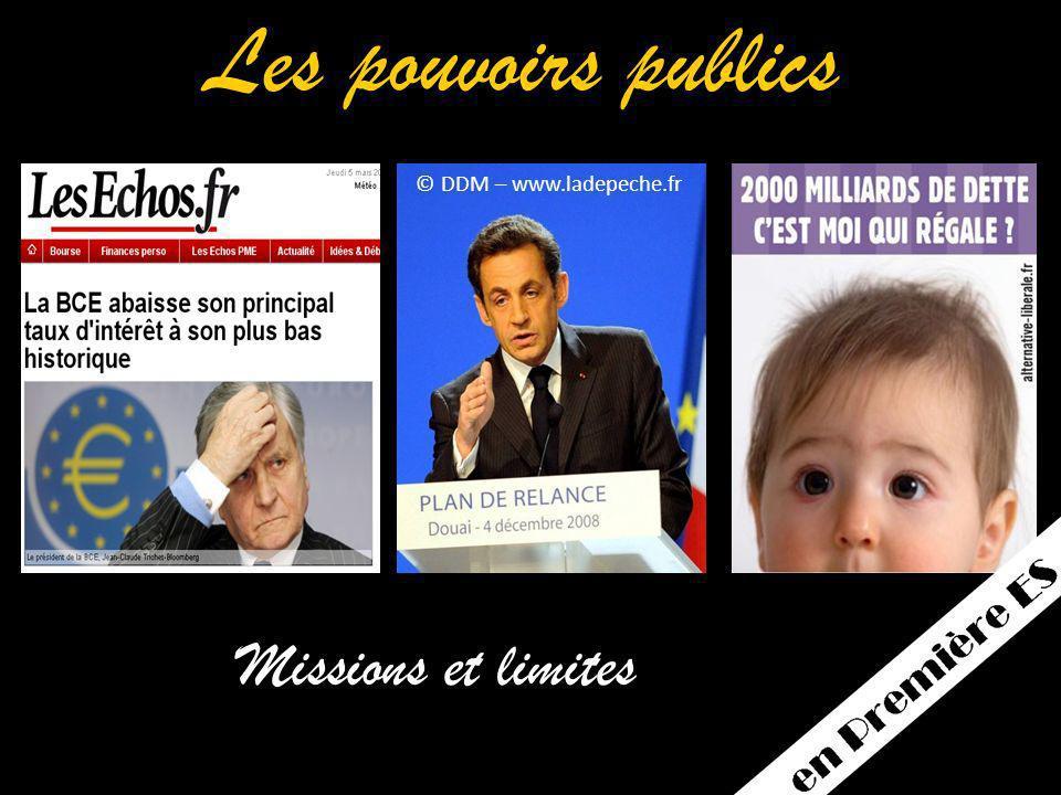 © DDM – www.ladepeche.fr Les pouvoirs publics Missions et limites