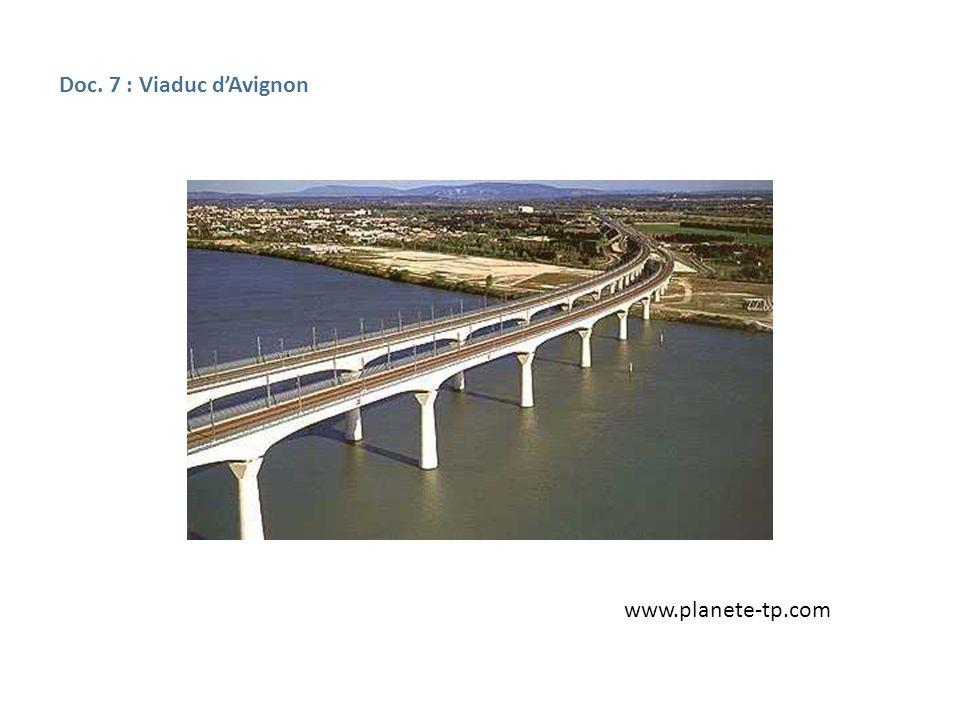 Doc. 7 : Viaduc dAvignon www.planete-tp.com