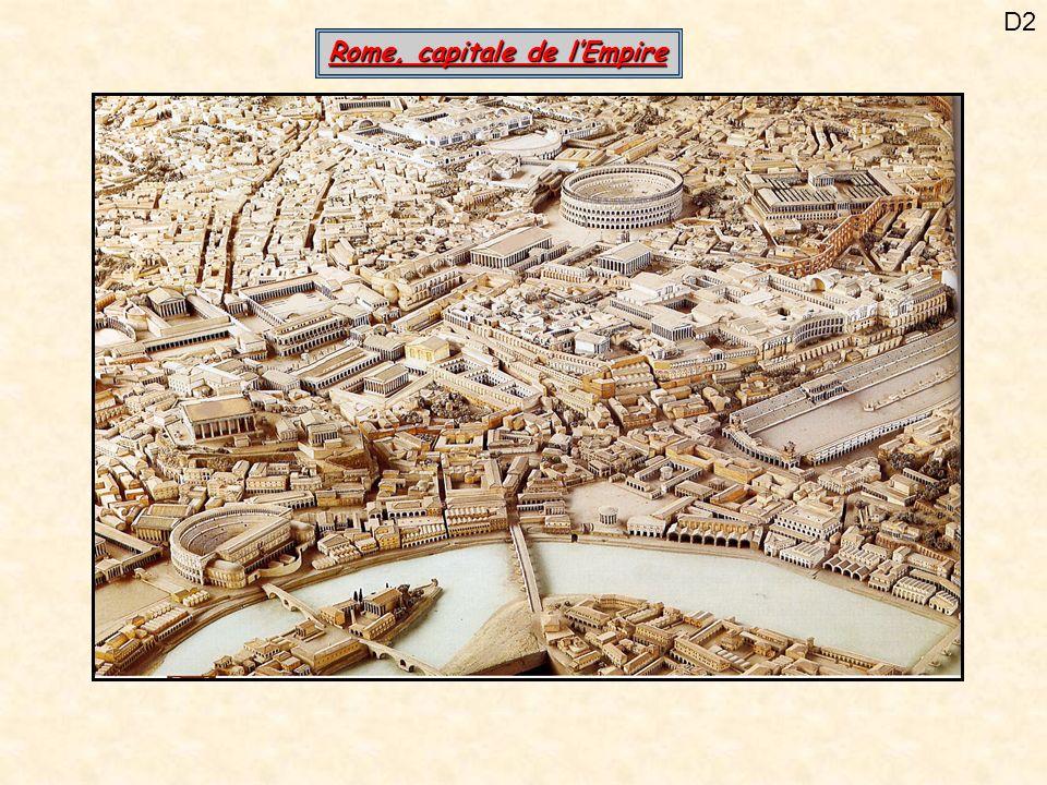 D23Les habitations Dessin dune maison : la domus qui possède plusieurs pièces Le toit est percé pour recueillir leau de pluie dans un bassin Extrait de Les Lauriers de César, Goscinny et Uderzo