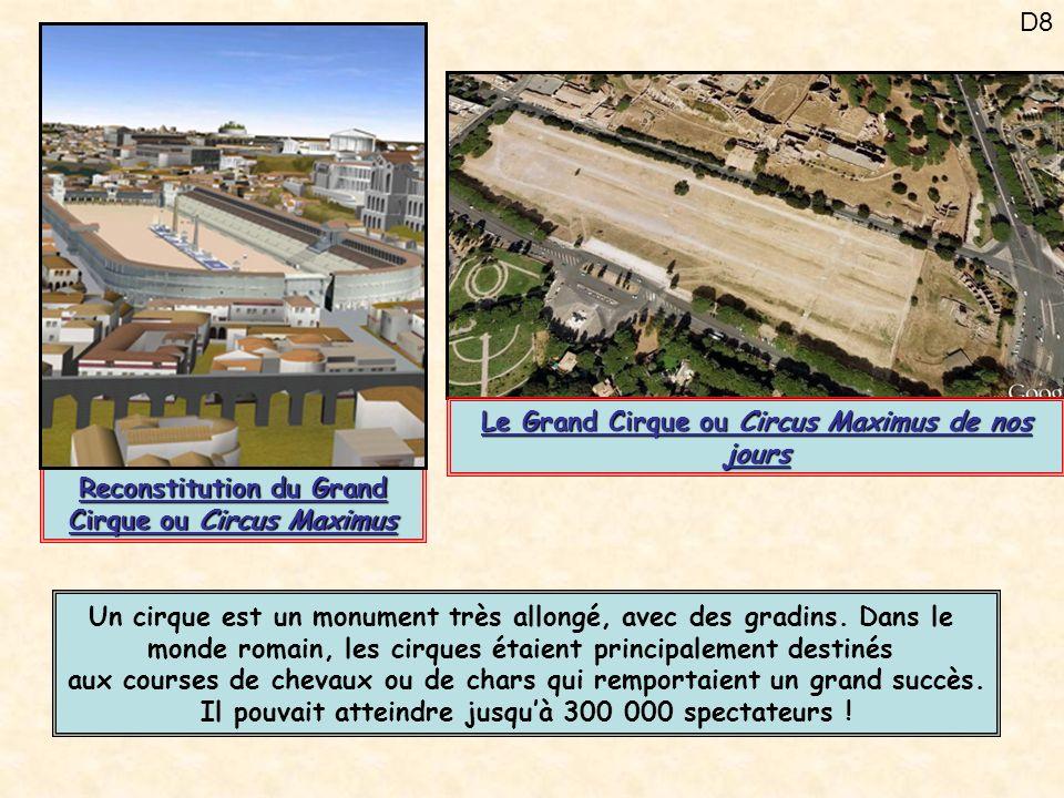 D19 Les thermes sont des bains publics.Il y en avait plus de 900 à Rome.
