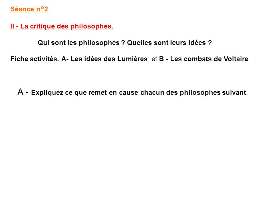 doc.1 : Jean jacques Rousseau critique la.....................................