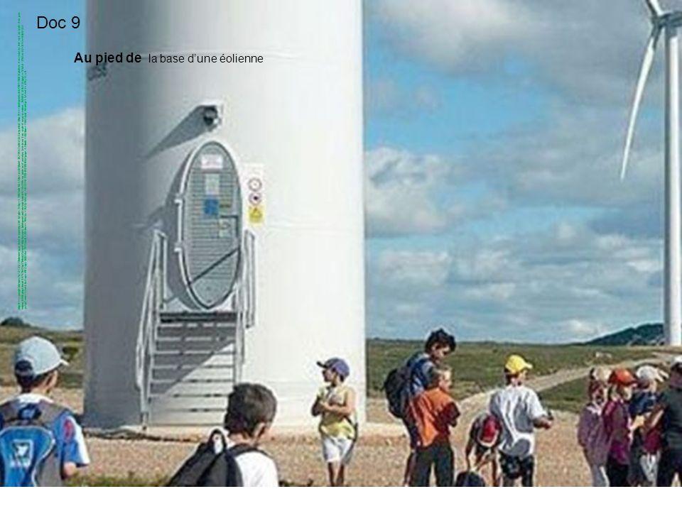 Au pied de la base dune éolienne http://www.google.fr/imgres?q=%C3%A9olienne+parc+haut+languedoc&hl=fr&gbv=2&biw=1280&bih=661&tbm=isch&tbnid=IfsY9QvXo
