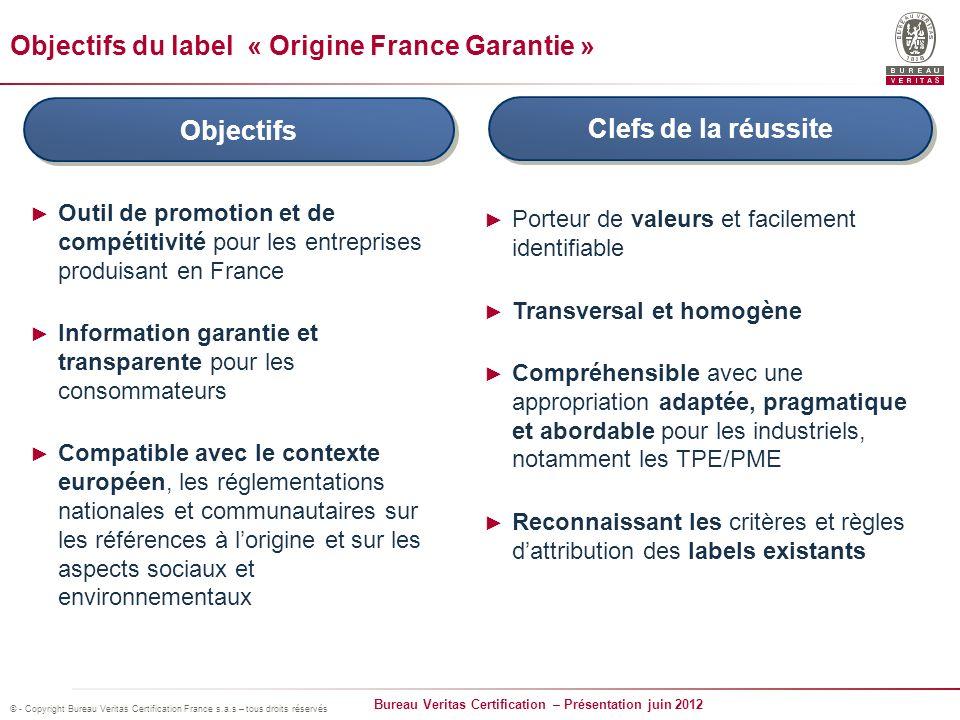 Bureau Veritas Certification – Présentation juin 2012 © - Copyright Bureau Veritas Certification France s.a.s – tous droits réservés Des entreprises qui communiquent…