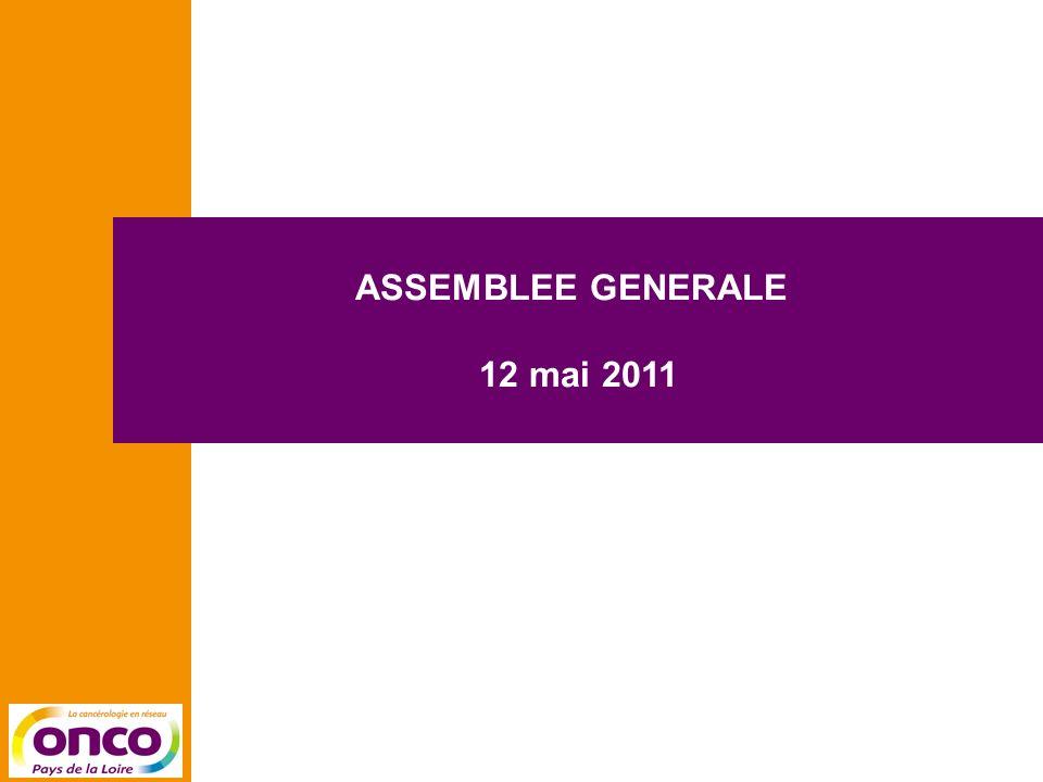 ASSEMBLEE GENERALE 12 mai 2011