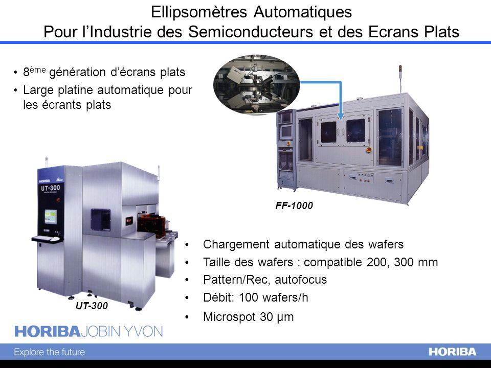 FF-1000 8 ème génération décrans plats Large platine automatique pour les écrants plats Digiscreen 3.00 m Ellipsomètres Automatiques Pour lIndustrie d