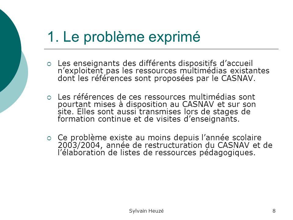 Sylvain Heuzé19 Une question clé Quels sont les moyens de gérer, de minimiser voire déviter ces risques déchec durant la phase de réalisation du projet?