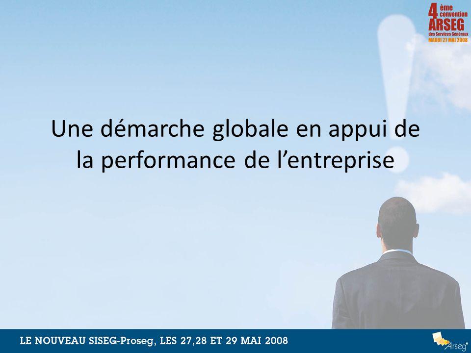 Une démarche globale en appui de la performance de lentreprise