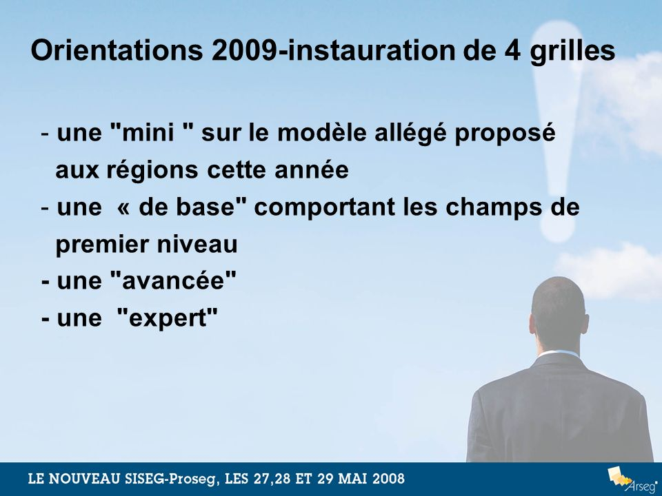 Orientations 2009-instauration de 4 grilles - une
