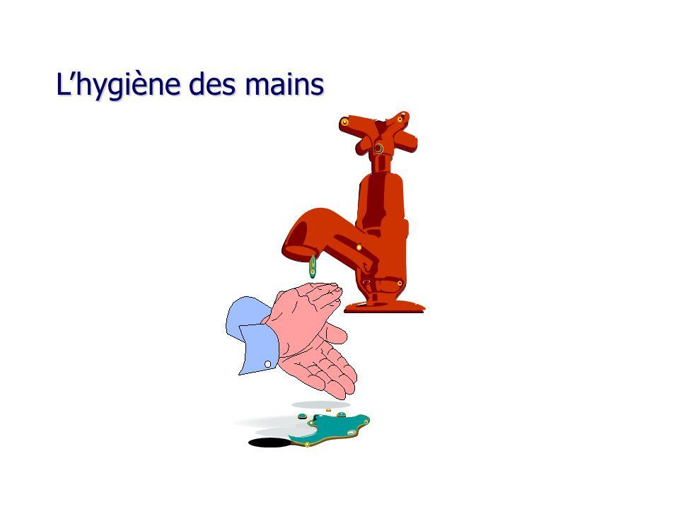 Lhygiène des mains Lhygiène des mains