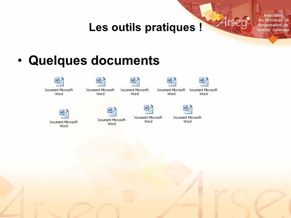 Association des Directeurs et Responsables de Services Généraux Les outils pratiques .