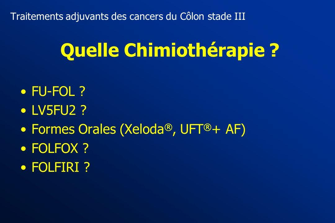 Chimiothérapie adjuvante chez le sujet agé Pas dinteraction entre âge et efficacité Pas dinteraction entre âge et efficacité Pas plus de toxicité (sau