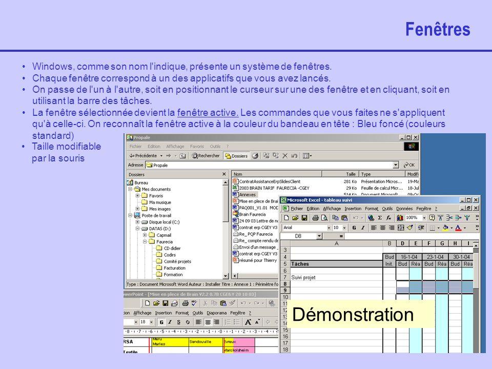 EB/2004 21 Menu démarrer Permet de lancer automatiquement des applications lors du démarrage du système. Cliquer sur Ajouter, rechercher le programme