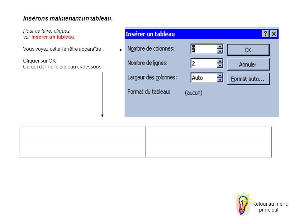 La fonction Trier : cette fonction permet de trier les données d un tableau.