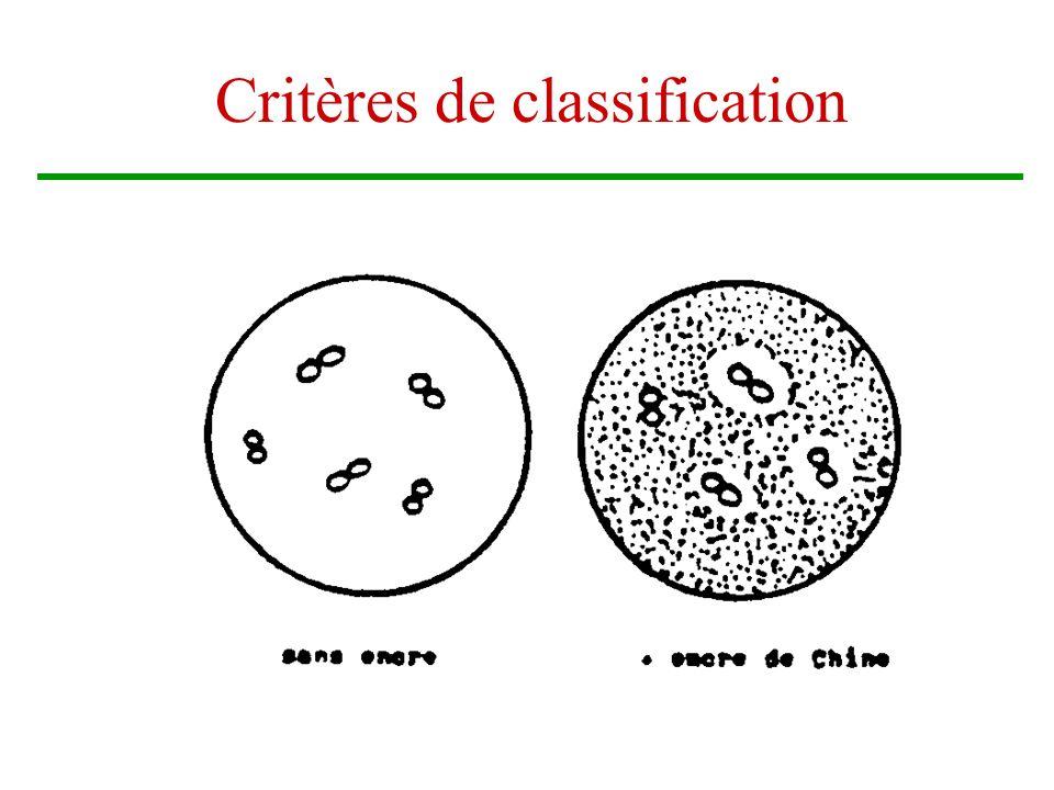 Brigitte Arnault10 Critères de classification