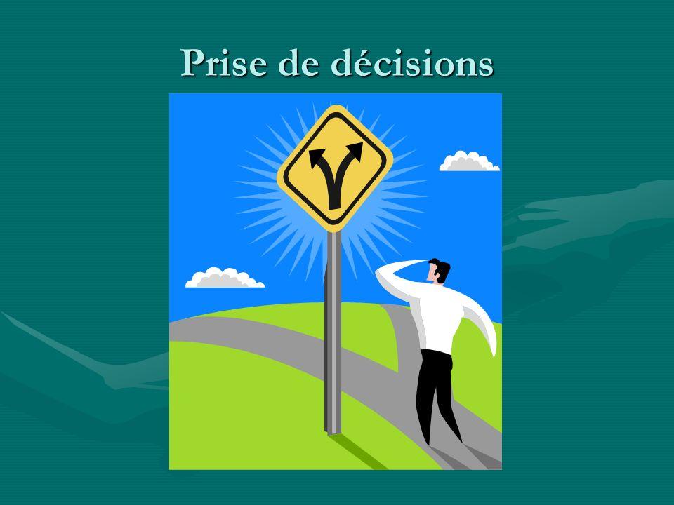 Prise de décisions