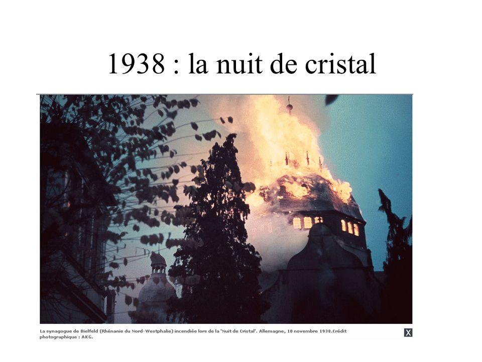 1938 : la nuit de cristal