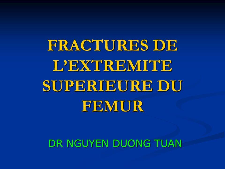 FRACTURES DE LEXTREMITE SUPERIEURE DU FEMUR DR NGUYEN DUONG TUAN