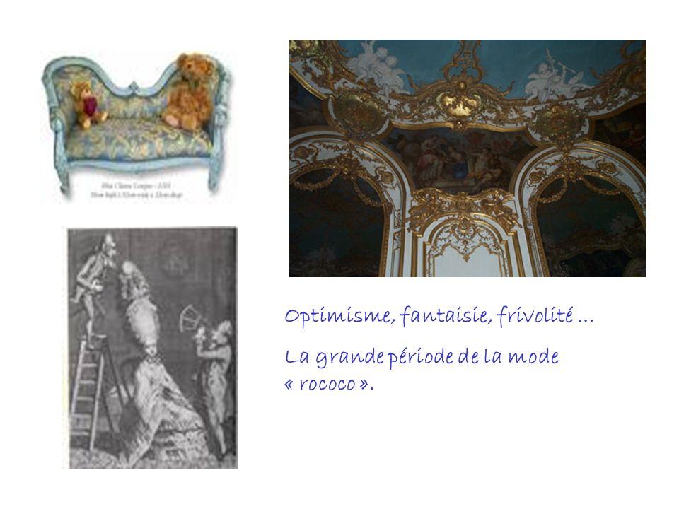 Optimisme, fantaisie, frivolité … La grande période de la mode « rococo ».