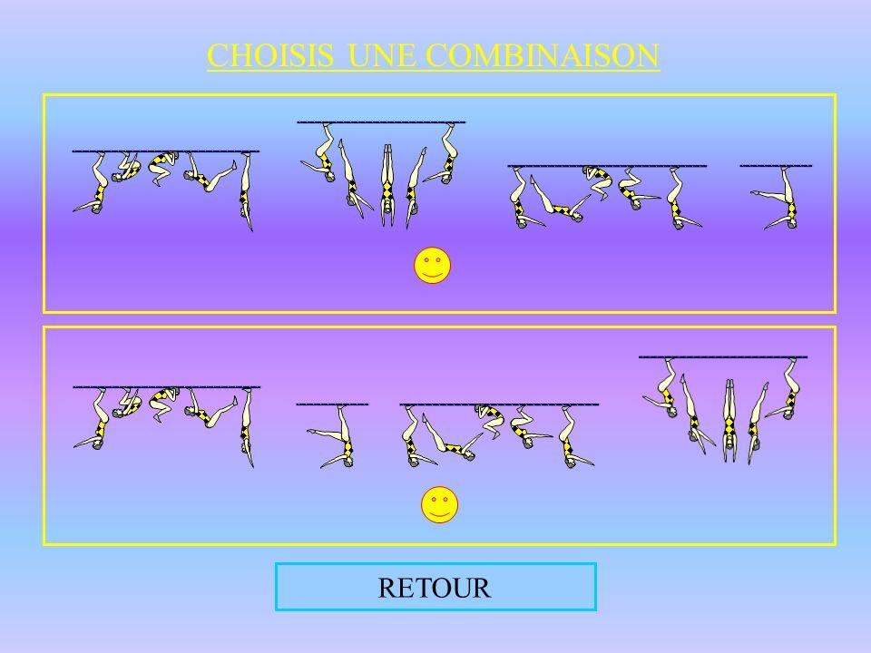REVOIR L ANIMATION CHANGER D ÉLÉMENT DE DÉPART Augmente la difficulté de l enchaînement
