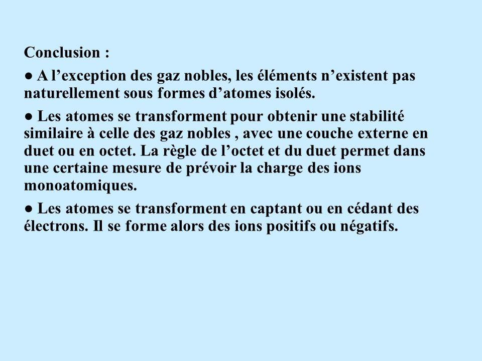 2- Structure électronique des ions Activité 2 : Dans certains solides ioniques, on rencontre des ions comme Na +, Be 2+, O 2- et Cl - En revanche, on