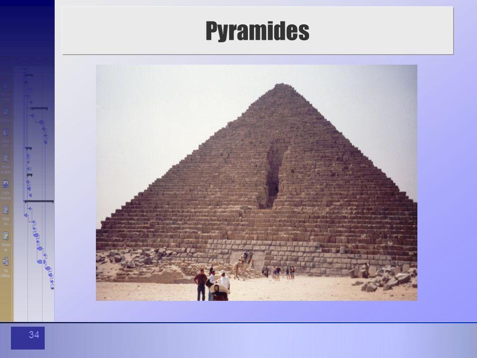 34 Pyramides