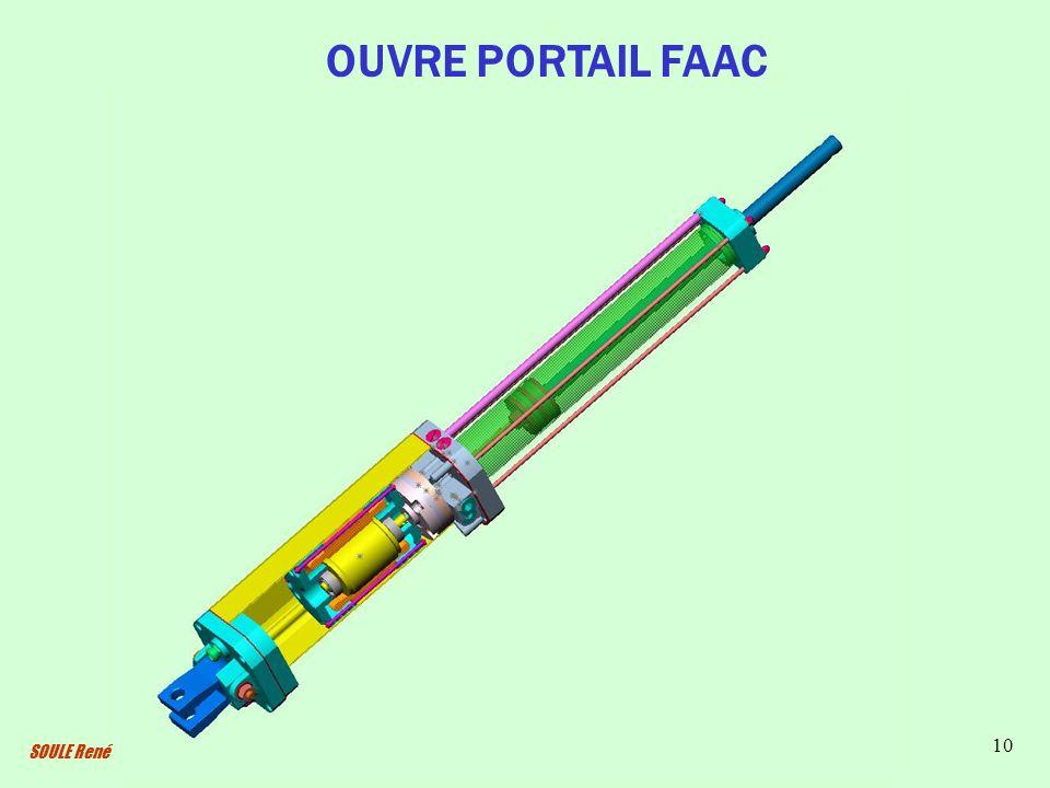 SOULE René 10 OUVRE PORTAIL FAAC