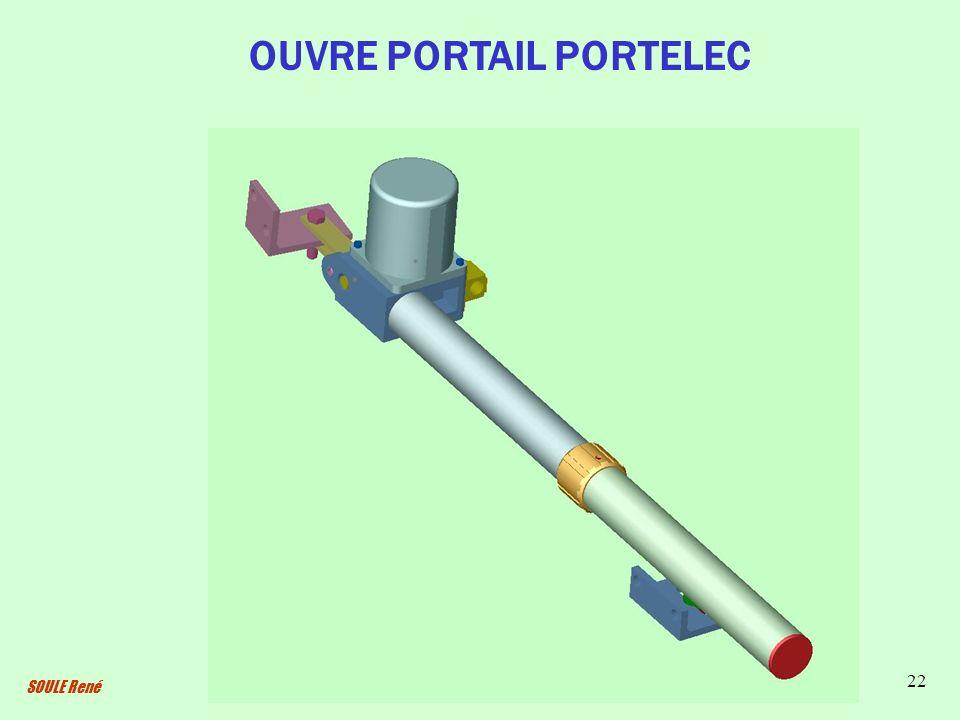 SOULE René 22 OUVRE PORTAIL PORTELEC