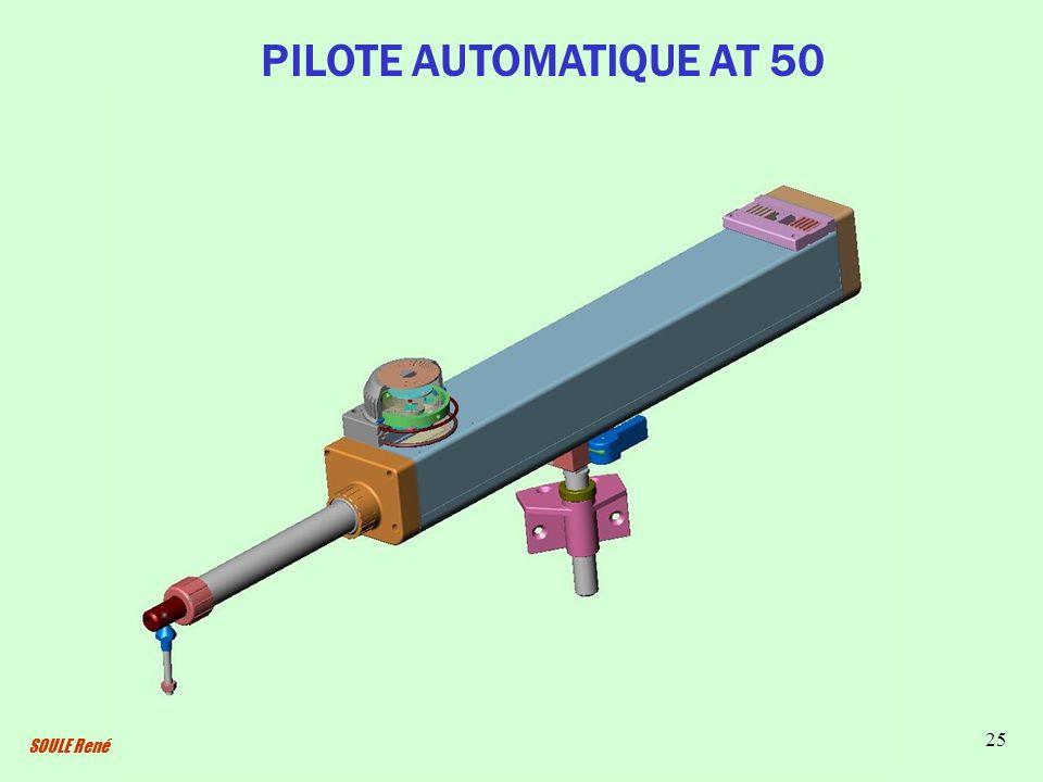 SOULE René 25 PILOTE AUTOMATIQUE AT 50