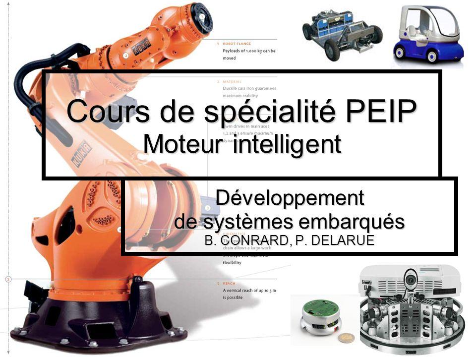 Cours de spécialité PEIP Moteur intelligent Développement de systèmes embarqués B.