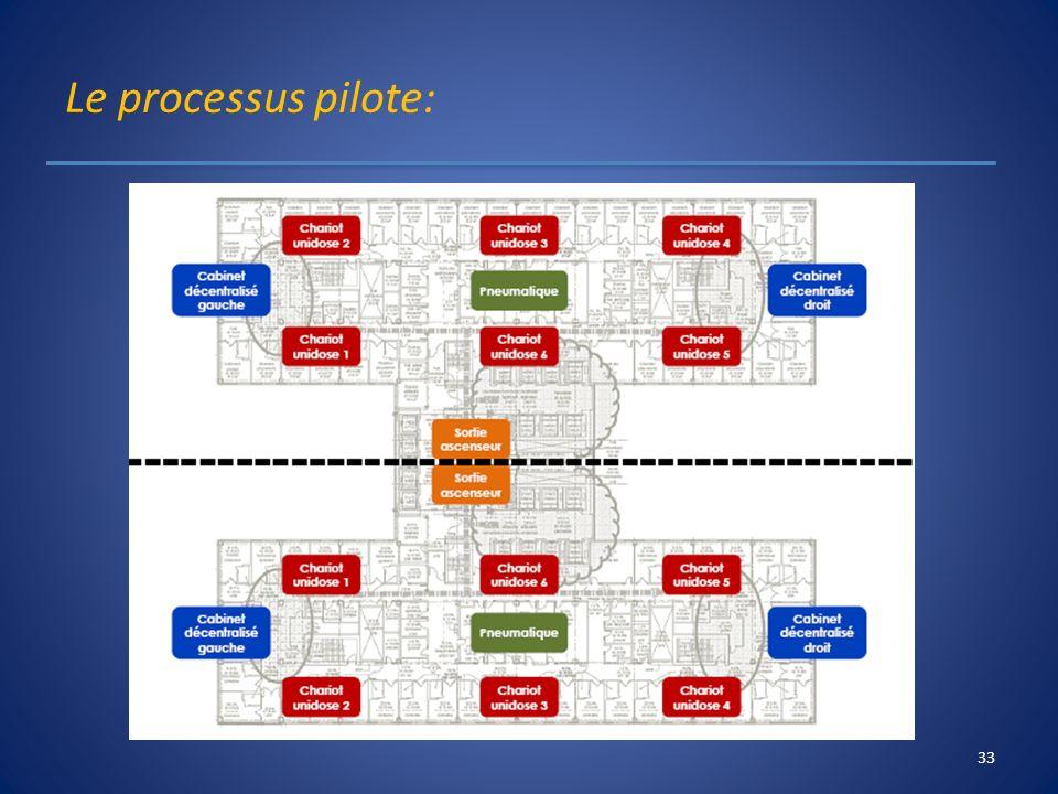 Le processus pilote: 33