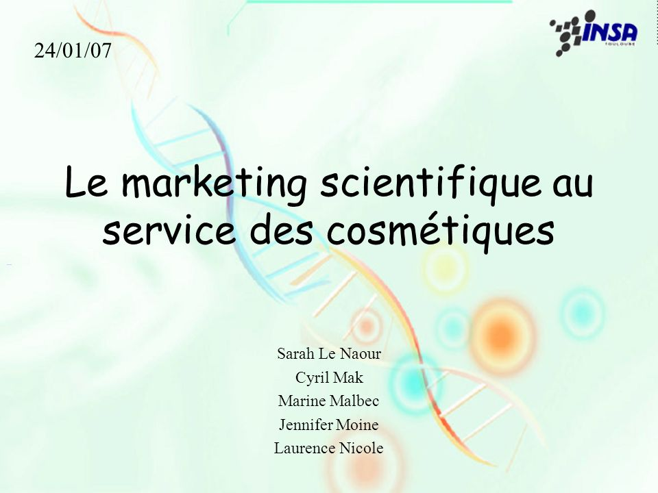Publicité Yves Rocher L ADN végétal est le tout premier principe de vie cellulaire.