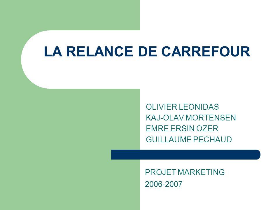 PLAN CARREFOUR ET CONJONTURE FRANCAISE(2004) STRATEGIE ACTUELLE STRATEGIE FACE AU HARD DISCOUNT STRATEGIE DE PUBLICITE TV CARREFOUR EN CHINE