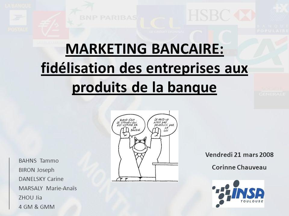 CONCLUSION Le marketing de la relation permet aux banques de sadapter à un marché très concurrentiel.
